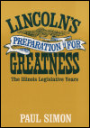 link to catalog page SIMON, Lincoln's Preparation for Greatness