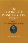 link to catalog page, Booker T. Washington Papers Volume 1