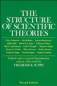 Cover for SUPPE: The Structure of Scientific Theories