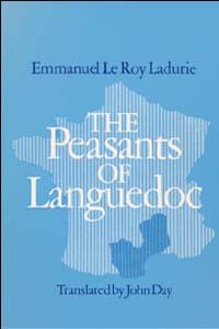 Cover for LADURIE: The Peasants of Languedoc