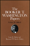 link to catalog page WASHINGTON, Booker T. Washington Papers Volume 10