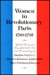 link to catalog page LEVY, Women in Revolutionary Paris, 1789-1795