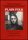 link to catalog page KATZMAN, Plain Folk