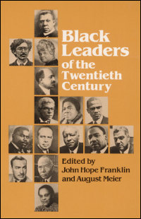Cover for FRANKLIN: Black Leaders of the Twentieth Century. Click for larger image