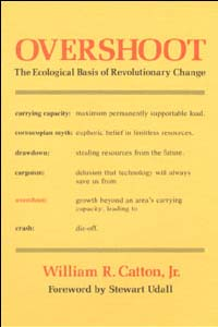 Cover for CATTON: Overshoot: The Ecological Basis of Revolutionary Change