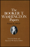 link to catalog page WASHINGTON, Booker T. Washington Papers Volume 13