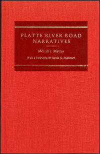 Platte River Road Narratives - Cover