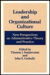 link to catalog page SERGIOVANNI, Leadership and Organizational Culture