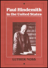 link to catalog page, Paul Hindemith in the United States