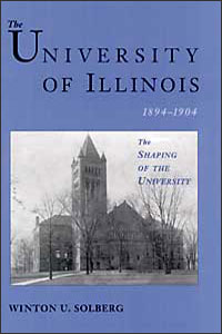 The University of Illinois, 1894-1904 - Cover