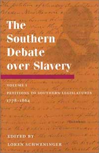 The Southern Debate over Slavery - Cover