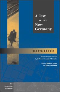 Cover for BRODER: A Jew in the New Germany. Click for larger image