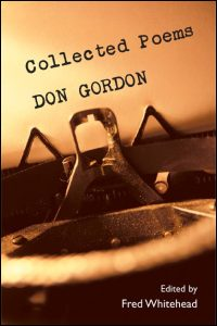 Cover for GORDON: Collected Poems. Click for larger image
