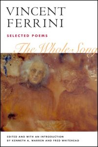 Cover for FERRINI: The Whole Song: Selected Poems. Click for larger image