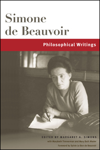 Cover for BEAUVOIR: Philosophical Writings. Click for larger image