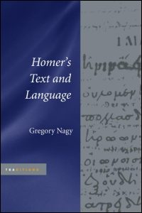 Cover for NAGY: Homer's Text and Language. Click for larger image