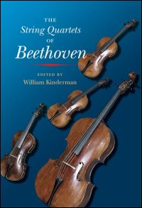 Cover for KINDERMAN: The String Quartets of Beethoven. Click for larger image