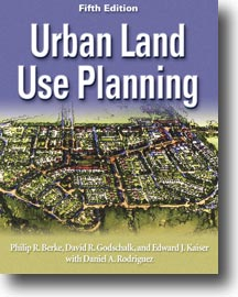 Cover for BERKE: Urban Land Use Planning, Fifth Edition