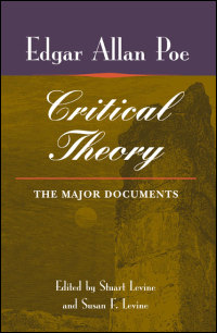 Cover for POE: Critical Theory: The Major Documents. Click for larger image