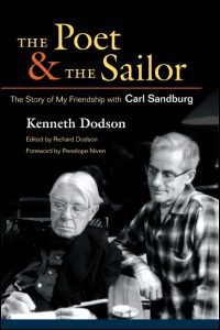 Cover for Dodson: The Poet and the Sailor: The Story of My Friendship with Carl Sandburg. Click for larger image