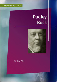 Cover for Orr: Dudley Buck. Click for larger image