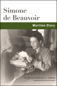 Cover for Beauvoir: Wartime Diary. Click for larger image