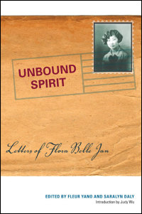 Cover for JAN: Unbound Spirit: Letters of Flora Belle Jan. Click for larger image