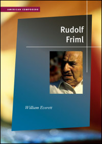 Cover for EVERETT: Rudolf Friml. Click for larger image