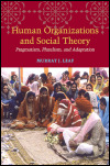 link to catalog page, Human Organizations and Social Theory