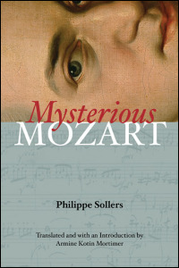 Cover for Sollers: Mysterious Mozart. Click for larger image