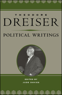 Cover for DREISER: Political Writings. Click for larger image