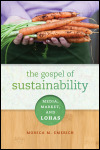 link to catalog page, The Gospel of Sustainability