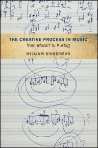 Cover for kinderman: The Creative Process in Music from Mozart to Kurtag. Click for larger image