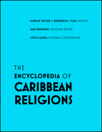 Cover for taylor: The Encyclopedia of Caribbean Religions: Volume 1: A-L; Volume 2: M-Z. Click for larger image