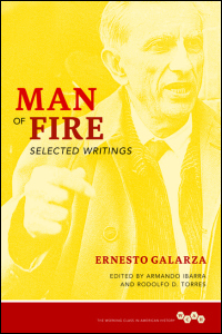 Cover for GALARZA: Man of Fire: Selected Writings. Click for larger image