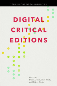 Digital Critical Editions - Cover