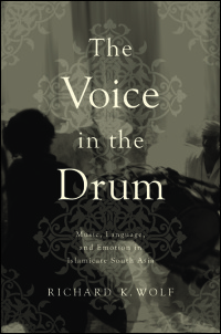 Cover for Wolf: The Voice in the Drum: Music, Language, and Emotion in Islamicate South Asia. Click for larger image