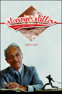 Cover for BURK: Marvin Miller, Baseball Revolutionary. Click for larger image