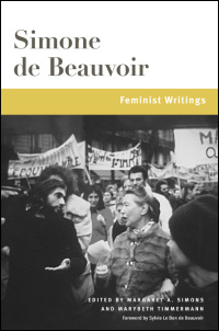 Cover for Beauvoir: Feminist Writings. Click for larger image