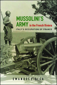 Mussolini's Army in the French Riviera - Cover