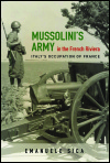link to catalog page, Mussolini's Army in the French Riviera