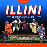 Cover for Pearson: Illini Legends, Lists, and Lore. Click for larger image