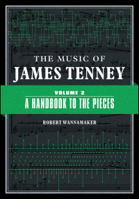 The Music of James Tenney - Cover