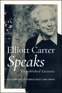 Elliott Carter Speaks - Cover