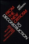 link to catalog page BERMAN, From the New Criticism to Deconstruction