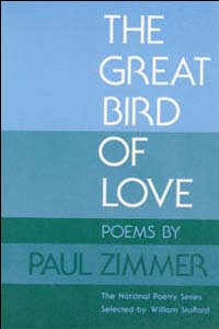 Cover for ZIMMER: The Great Bird of Love: Poems
