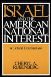 link to catalog page RUBENBERG, Israel and the American National Interest