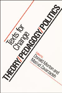 Theory/Pedagogy/Politics - Cover