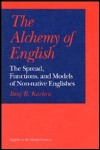 link to catalog page, The Alchemy of English