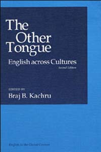 Cover for KACHRU: The Other Tongue: English across Cultures